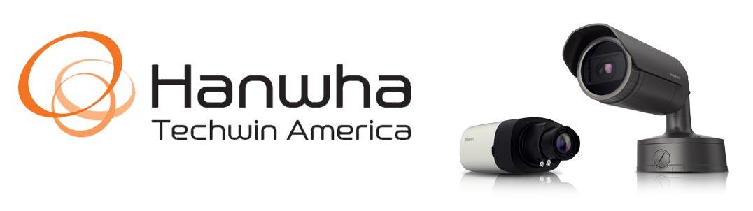 Hanwha Techwin Cameras