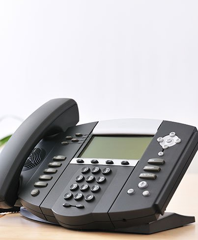 Business Telephone System on desk