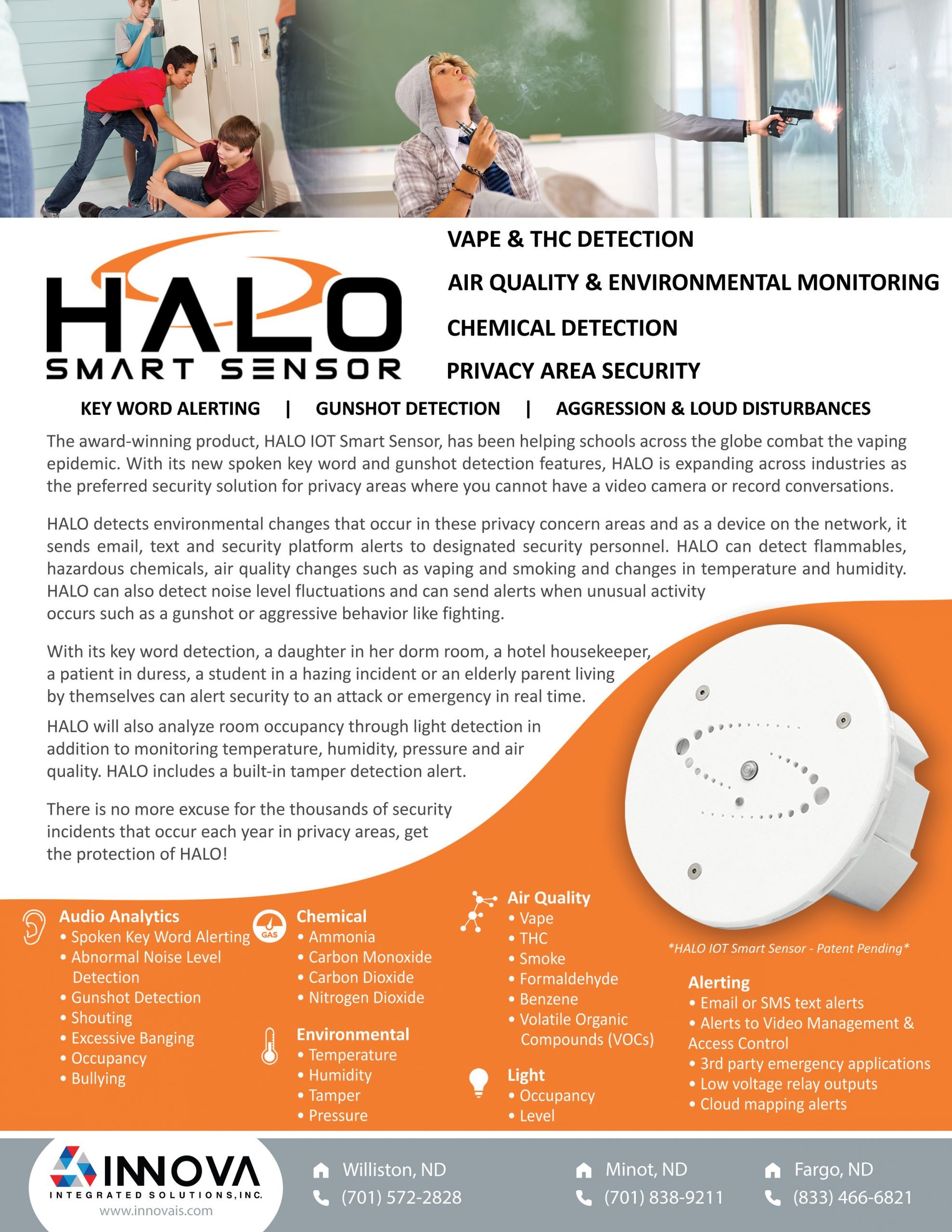 HALO Smart Sensor - Vape Detection & More